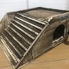 【DIY】スロープ付きハリネズミ用のハウスを100均だけで自作